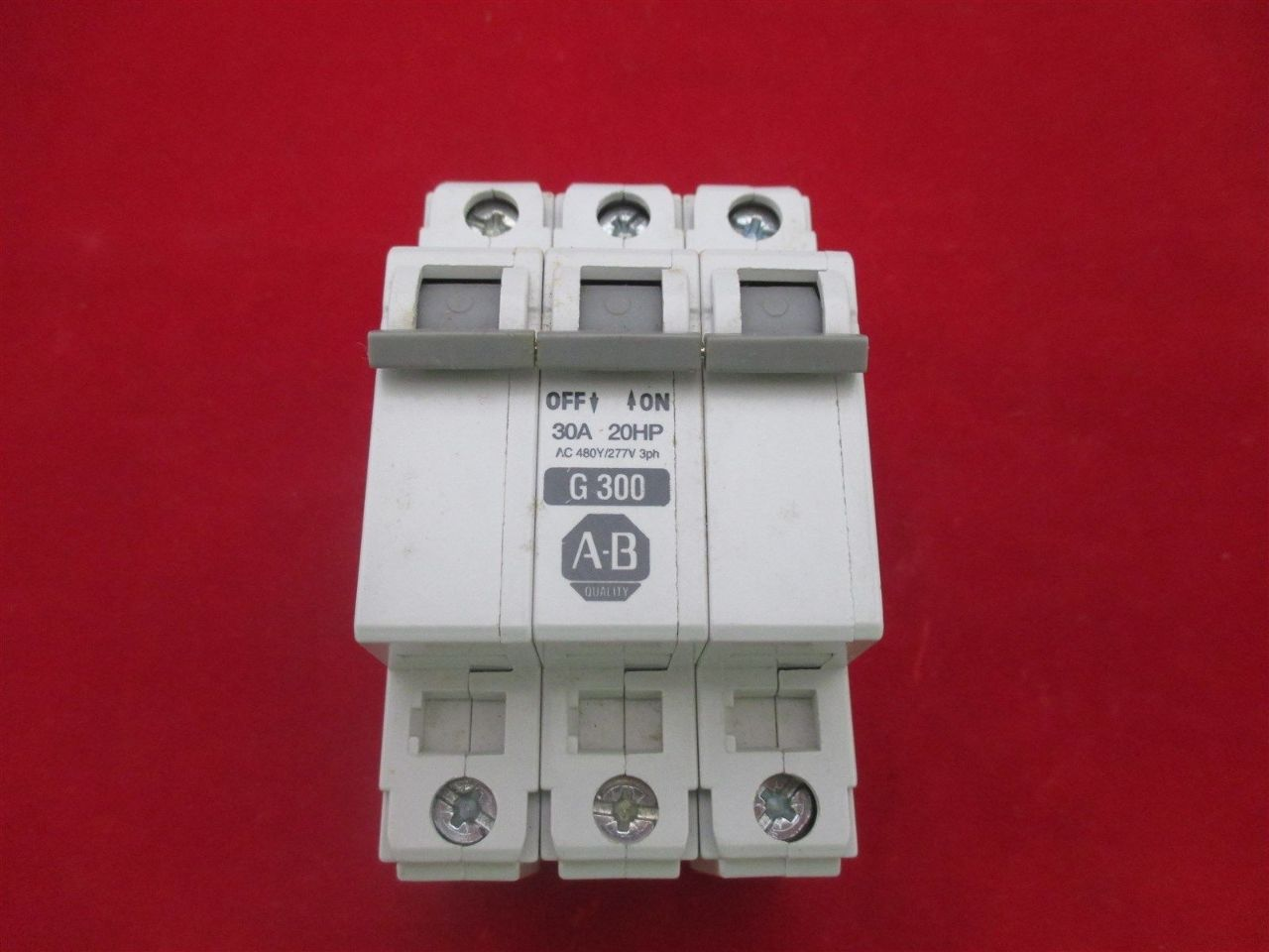 Allen Bradley Miniature Circuit Breaker 1492 Cb3 G300 Process Breakers Images Photos