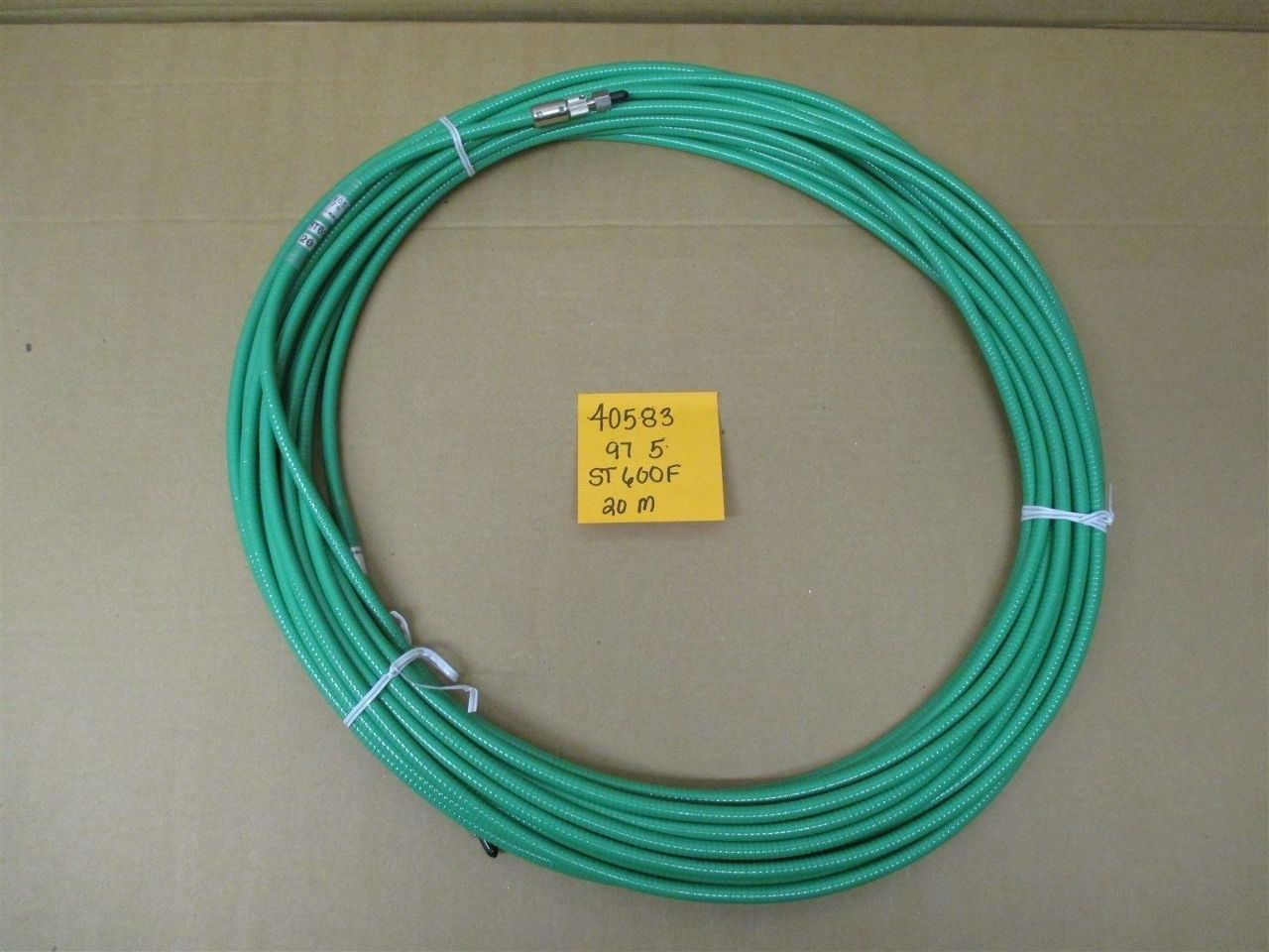 Mitsubishi St600f 20m Fiber Optic Cable Process Industrial Surplus Electronics Electricity Gt Optical Wire Power