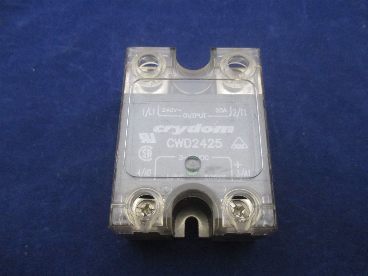 Crydom Cwd2425 Solid State Relay Process Industrial Surplus