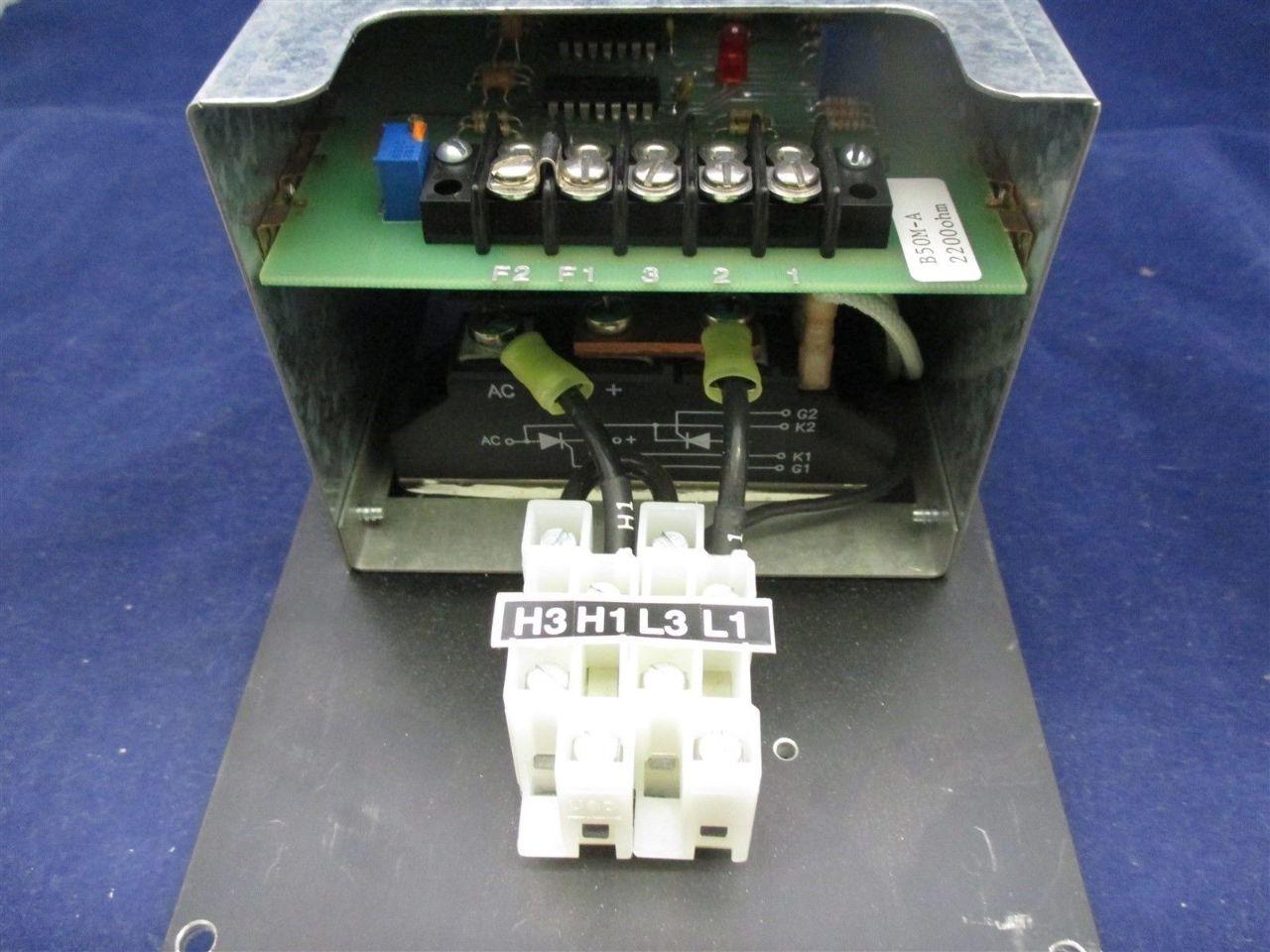Solitech 101 M1 240 040 A Power Controller Process Industrial Surplus Circuit