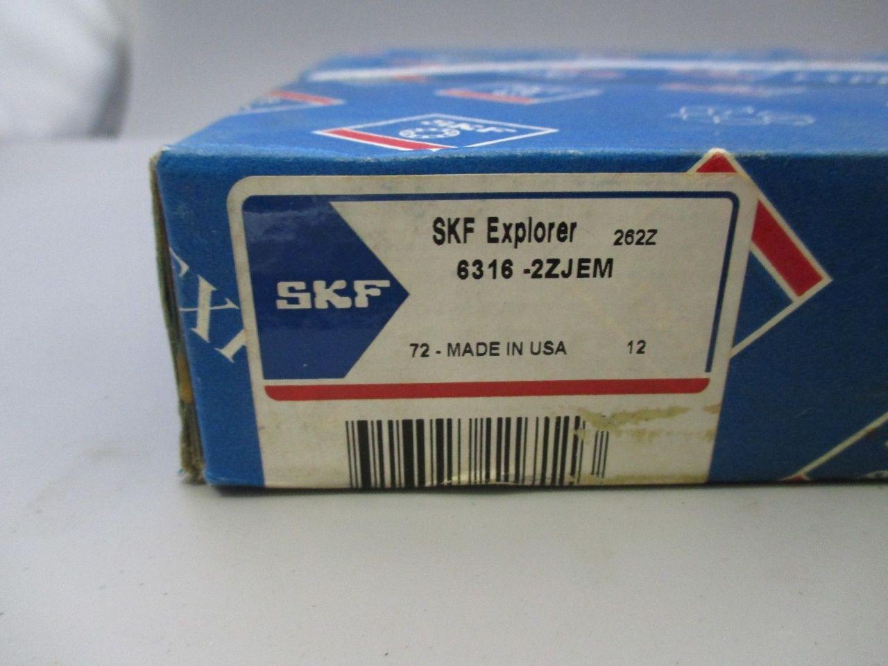 ... SKF 6316-2ZJEM Bearing new