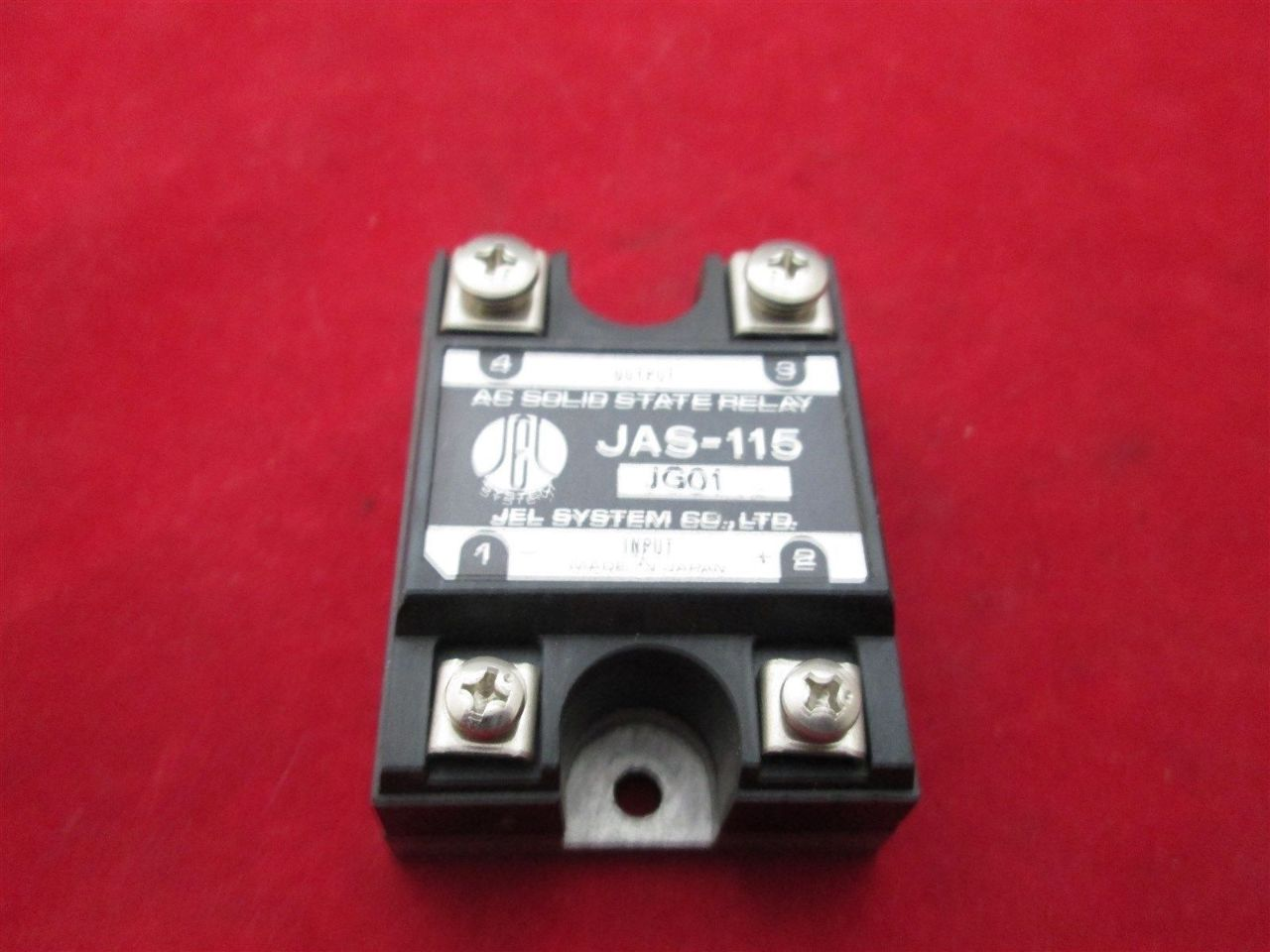 Jel System Jas 115 Ac Solid State Relay Process Industrial Surplus For