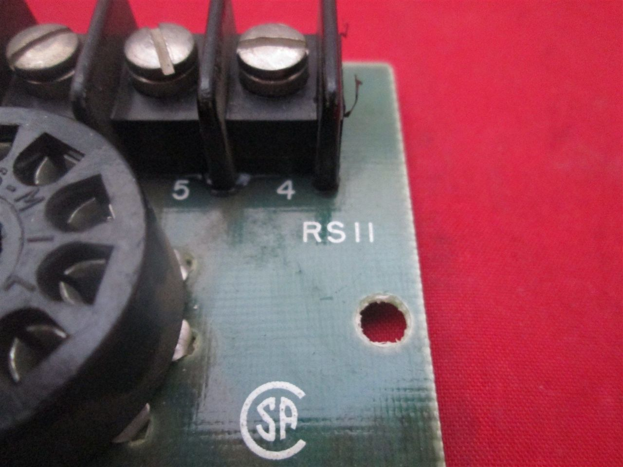 Curtis Rs11 Socket Relay