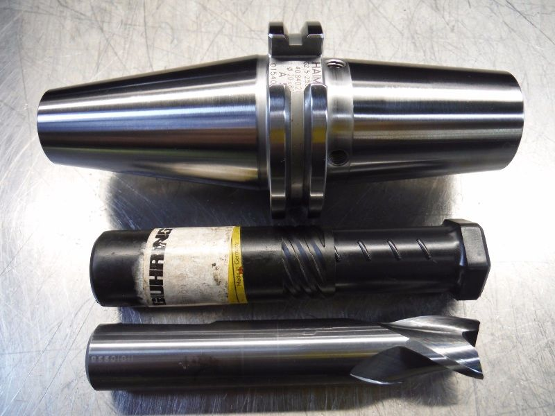Haimer CAT40 20mm Shrink Fit Endmill Holder w/ 20mm Carbide Endmill (LOC2610)