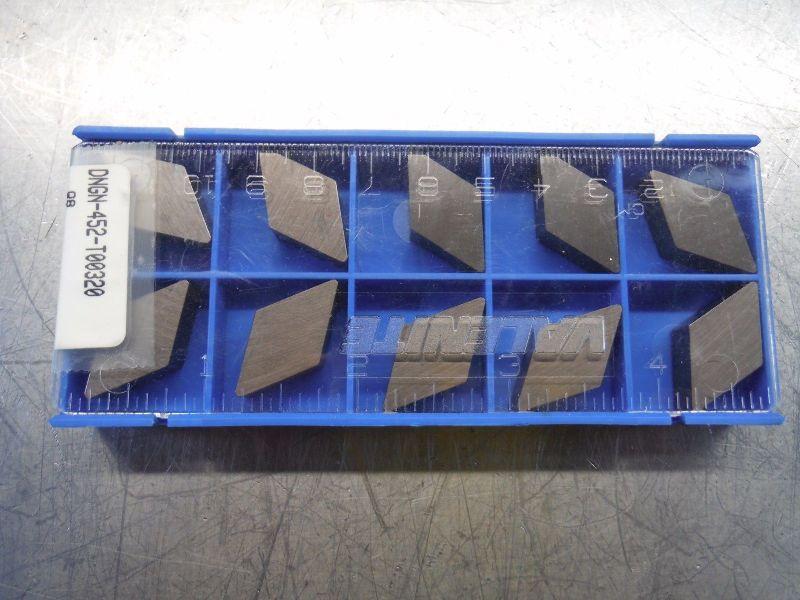 Valenite Ceramic Inserts Qty10 DNGN 452 T00320 Q8 (LOC2598A)
