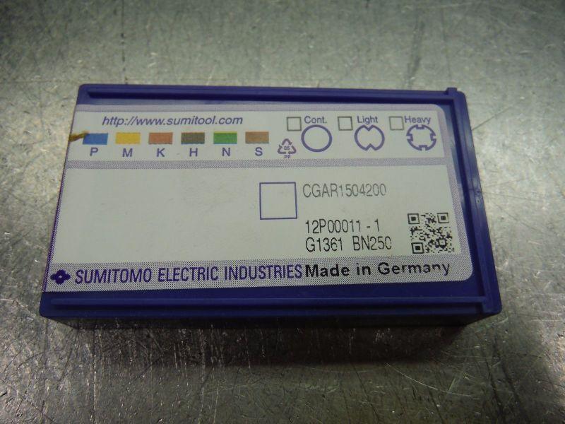 Sumitomo PCD Tipped Carbide Insert CGAR 1504200 BN250 (LOC2193B)