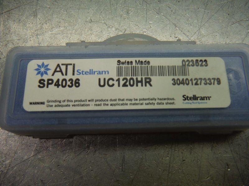 ATI Stellram 12mm #Y T A Spade Drill Inserts Qty2 UC120HR SP4036 (LOC2235)
