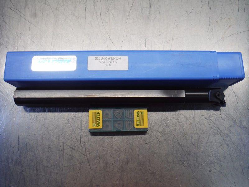 Valenite Indexable Boring Bar S20U MWLNL 4 w/ Qty10 WNMG 433 Inserts (LOC2591)