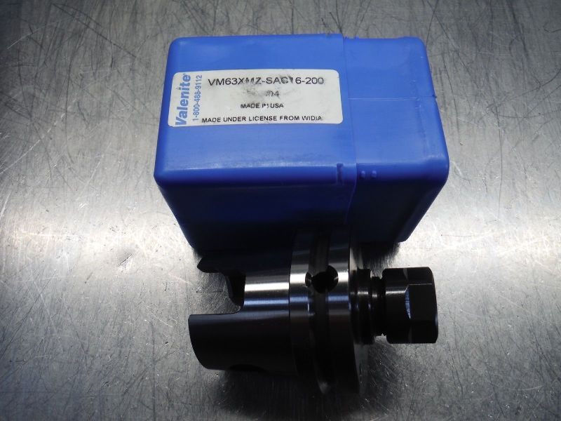 Valenite KM63 XMZ ER16 Collet Chuck VM63XMZ-SAC16-200 (LOC2578A)