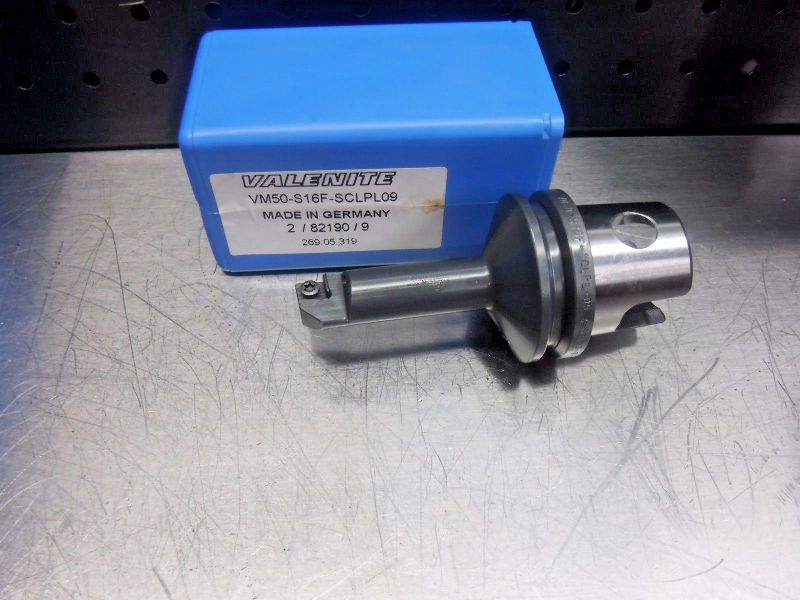 Valenite VM50 Steel Boring Bar Head VM50-S16F-SCLPL09 (LOC1232B)