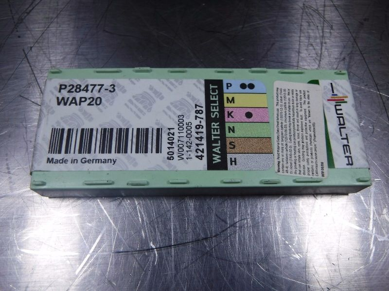 Walter Valenite Carbide Inserts P28477 3 WAP20 (LOC635)