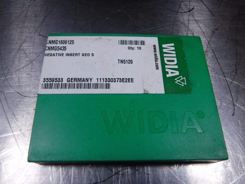 Widia Carbide Inserts (K) CNMG 1606125 / CNMG 5435 TN5120 (LOC636)