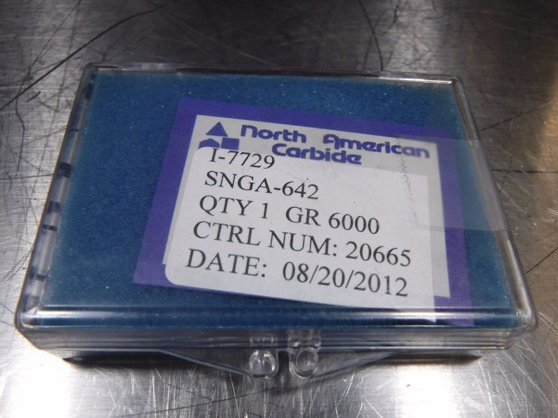 North American CBN Carbide Inserts SNGA 642 6000 (LOC637)