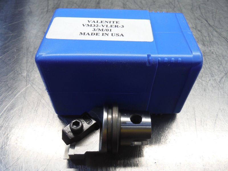 Valenite VM / KM 32 Indexable Turning Head VM32-VLER-3 (LOC2182)