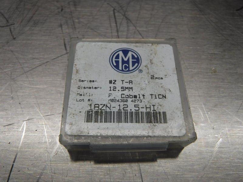 AMEC Series #Z T-A 12.5mm Spade Drill Inserts 18ZN-12.5-HI QTY2 (LOC650)