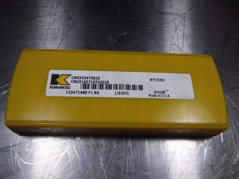Kennametal Ceramic Inserts CNGX 554 T 0820 KY3500 (LOC626)