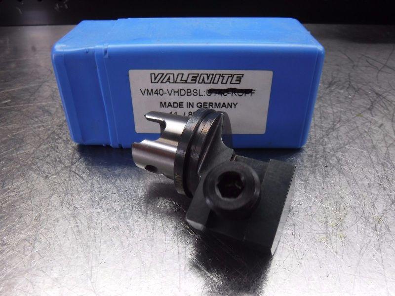 Valenite VM / KM 40 Insert Cartridge Holder VM40 VHDBSL (LOC548A)