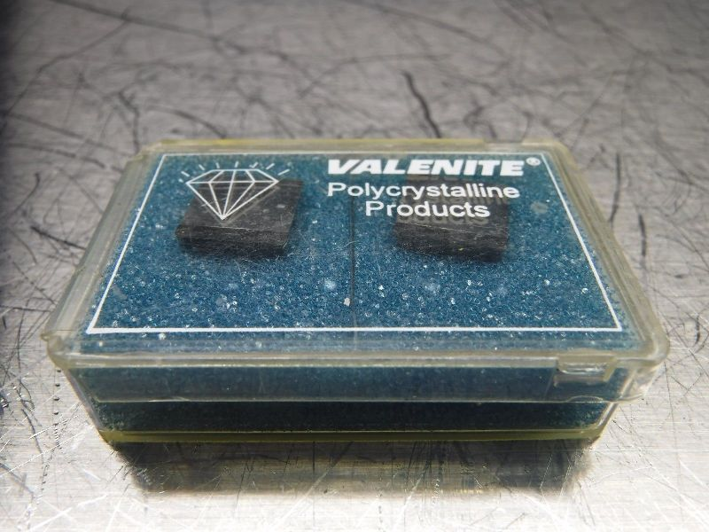 Valenite PCD Tipped Diamond Inserts QTY2 VOV047461 VC728 (LOC654)