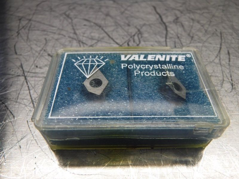 Valenite PCD Tipped Diamond Inserts QTY2 VOV-049795 VC728 (LOC654)