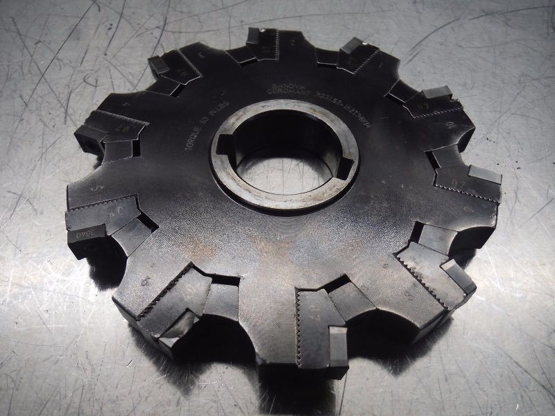 "Sandvik 6"" Indexable Slot Milling Cutter R331.52-152T38KM (LOC2288A)"