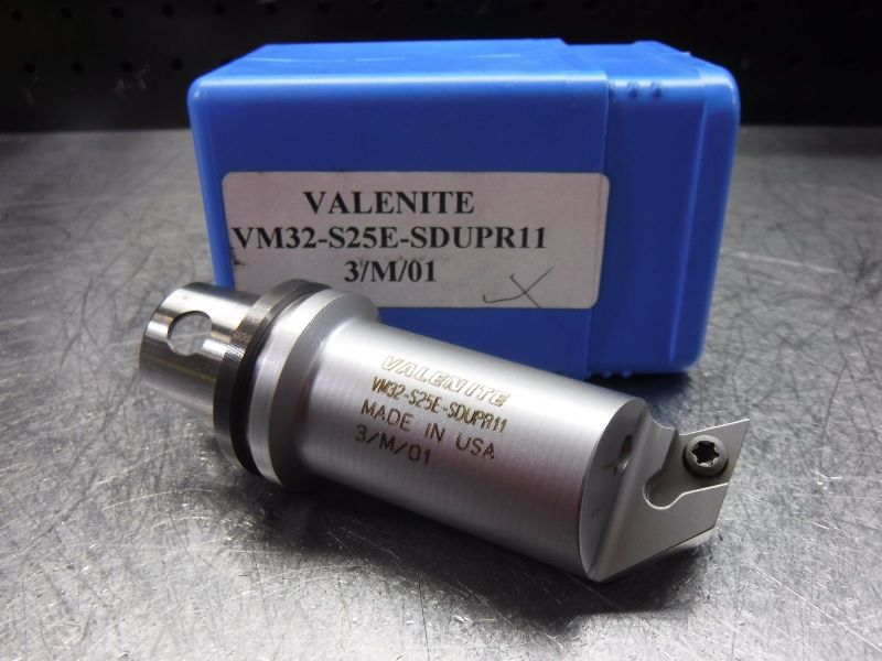 Valenite VM/KM 32 Indexable Coolant Thru Boring Bar VM32-S25E-SDUPR11 (LOC165)