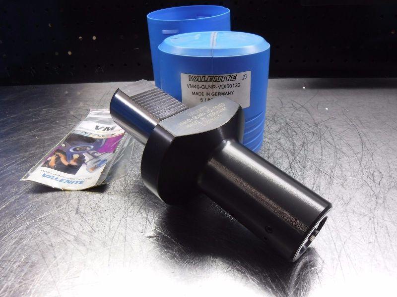 Valenite VDI50 to VM40 Clamping Unit VM40-QLNR-VDI50120 (LOC443A)