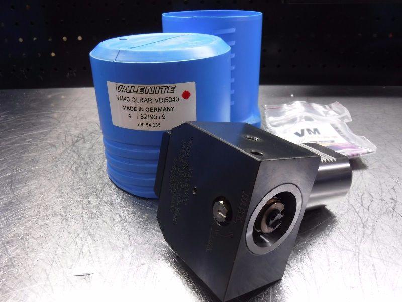 Valenite VDI50 to VM / KM40 Clamping Unit VM40-QLRAR-VDI5040 (LOC1027A)