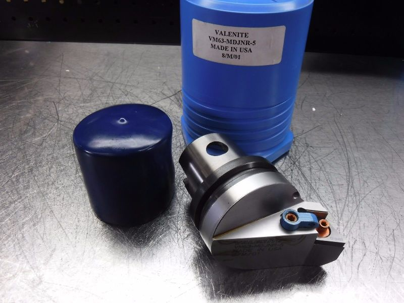 Valenite KM63 Indexable Turning Head VM63-MDJNR-5 (LOC199)