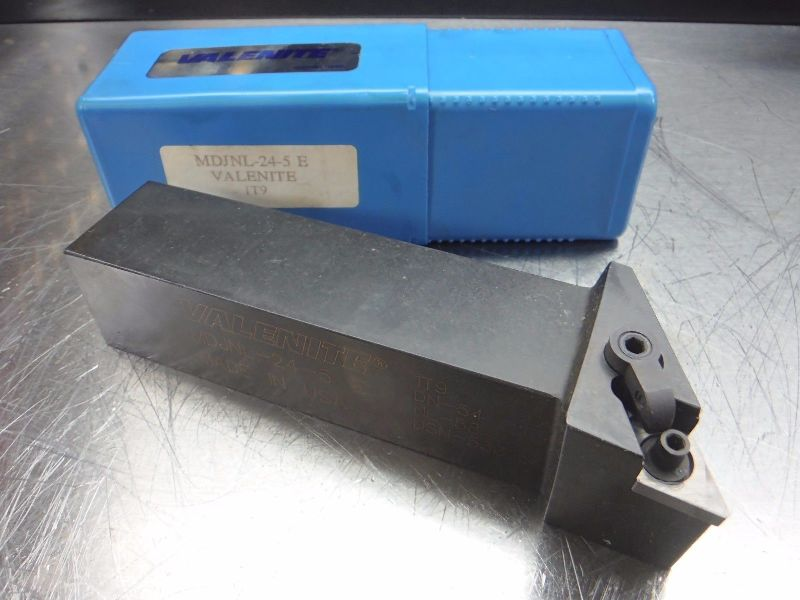 "Valenite Lathe Tool Holder 1.5"" x 1.5"" Shank MDJNL 24 5 E (LOC848B)"