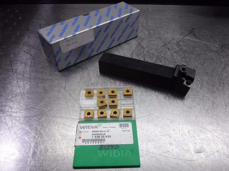 Valenite Indexable Lathe Tool Holder MSKNL-16-4 D w/ Qty 10 Inserts (LOC424)
