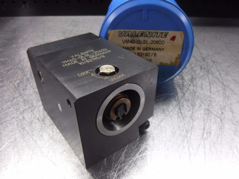 Valenite VM/KM 40 Clamping Unit VM40-QLSL-2060D (LOC218B)