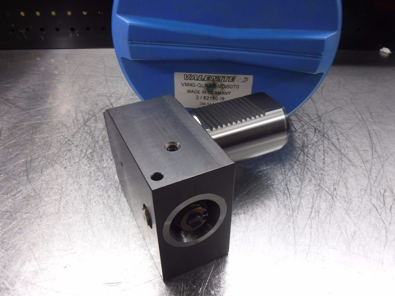 Valenite VDI50 Shank KM40 Clamping Unit VM40-QLRAR-VDI5070 (LOC453A)