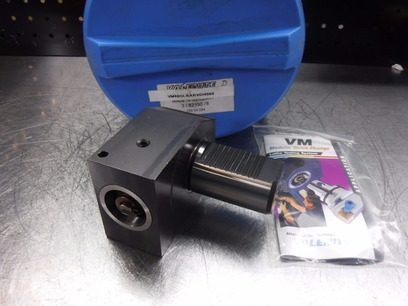 Valenite VDI40 Shank VM/KM 40 Clamping Unit VM40-QLRAR-VDI4060 (LOC110)