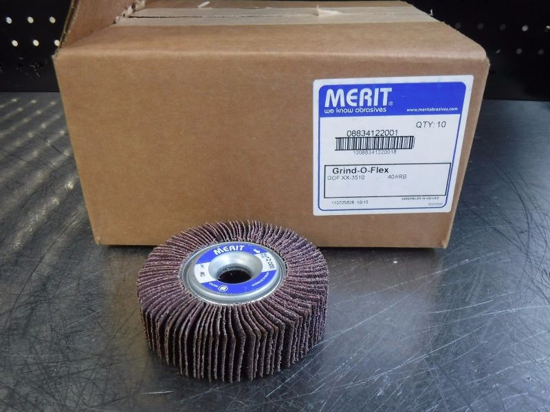 Merit Grind-O-Flex 3510 40 Grit QTY10 08834122004 (LOC224)