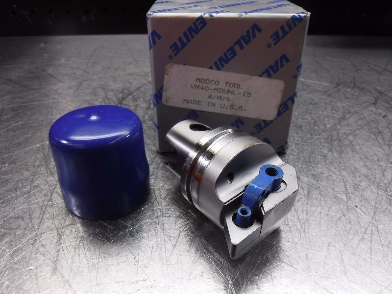 Valenite VM / KM 40 Indexable Turning Head VM40-MDUNL-15 (LOC144)