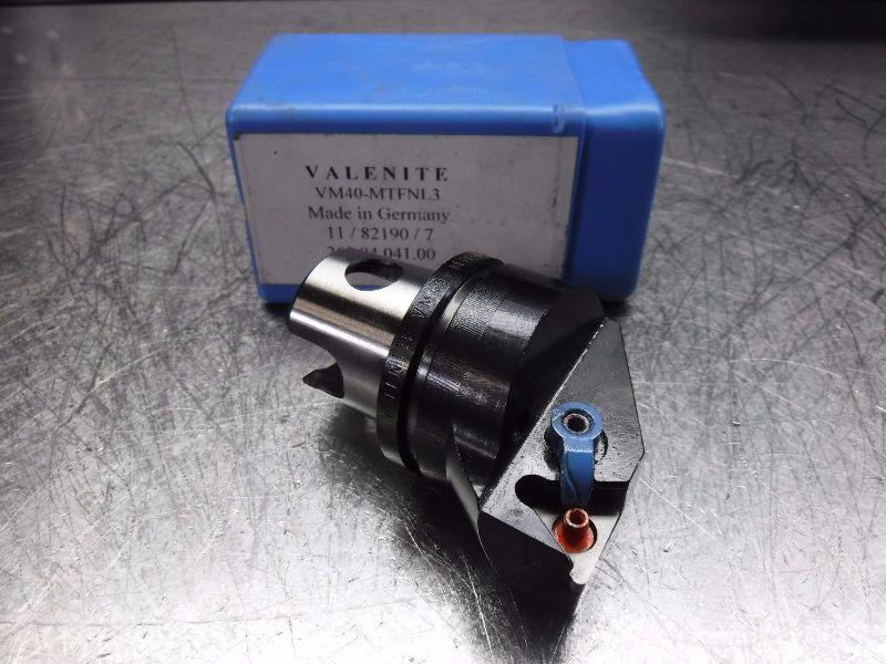 Valenite VM / KM 40 Indexable Turning Head VM40-MTFNL3 (LOC228B)