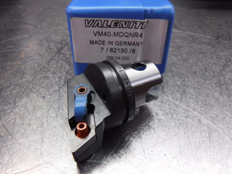 Valenite VM / KM 40 Indexable Turning Head VM40-MDQNR4 (LOC144)