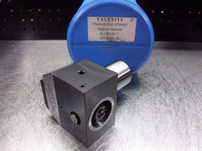 Valenite VDI40 Shank KM40 Clamping Unit VM40-QLRAL-VDI4040 (LOC163B)