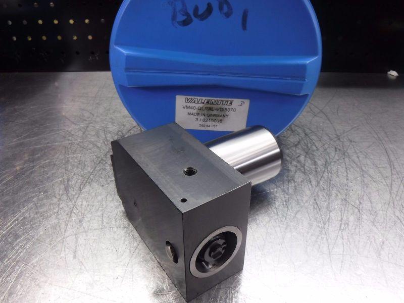 Valenite VDI50 Shank VM/KM 40 Clamping Unit VM40-QLRAL-VDI5070 (LOC181)