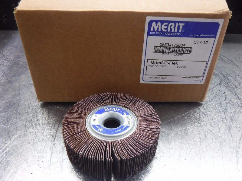 Merit Grind-O-Flex 3510 80 Grit QTY10 08834122004 (LOC225)