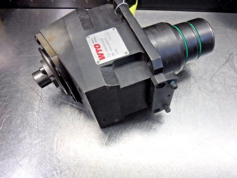 WTO 15° O.D Milling Unit Angle Head Attachment 410625000-80 (LOC1094A)