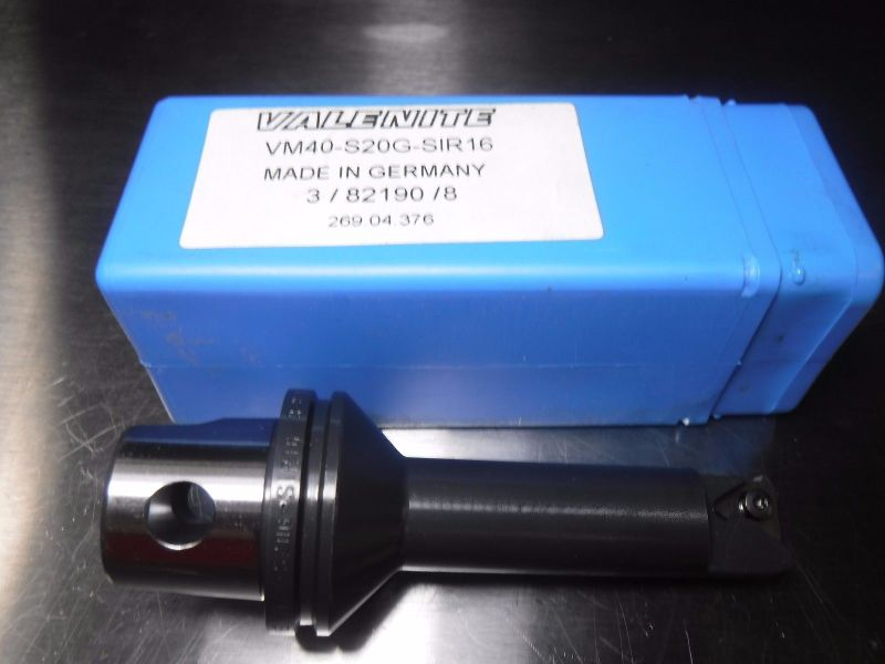Valenite VM / KM 40 Internal Threading Bar VM40 S20G SIR16 (LOC2995B)