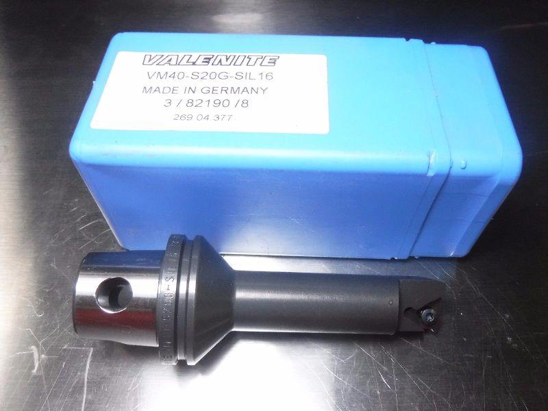 Valenite VM / KM 40 Internal Threading Bar VM40 S20G SIL16 (LOC2995A)