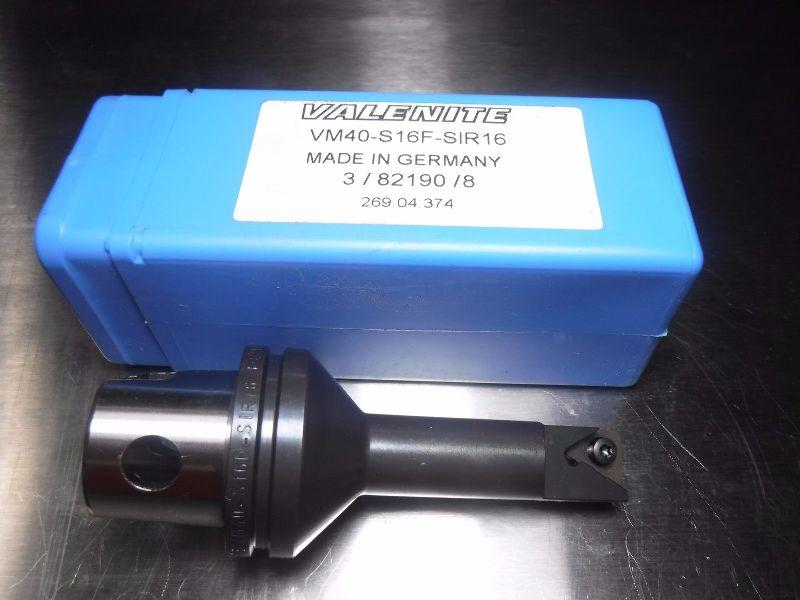 Valenite VM / KM 40 Internal Threading Bar VM40 S16F SIR16 (LOC903B)