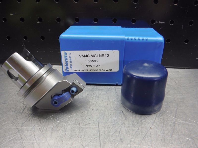 Valenite VM / KM 40 Indexable Turning Head VM40-MCLNR12 (LOC2814B)