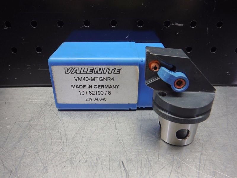 Valenite VM / KM 40 Indexable Turning Head VM40-MTGNR4 (LOC2817B)