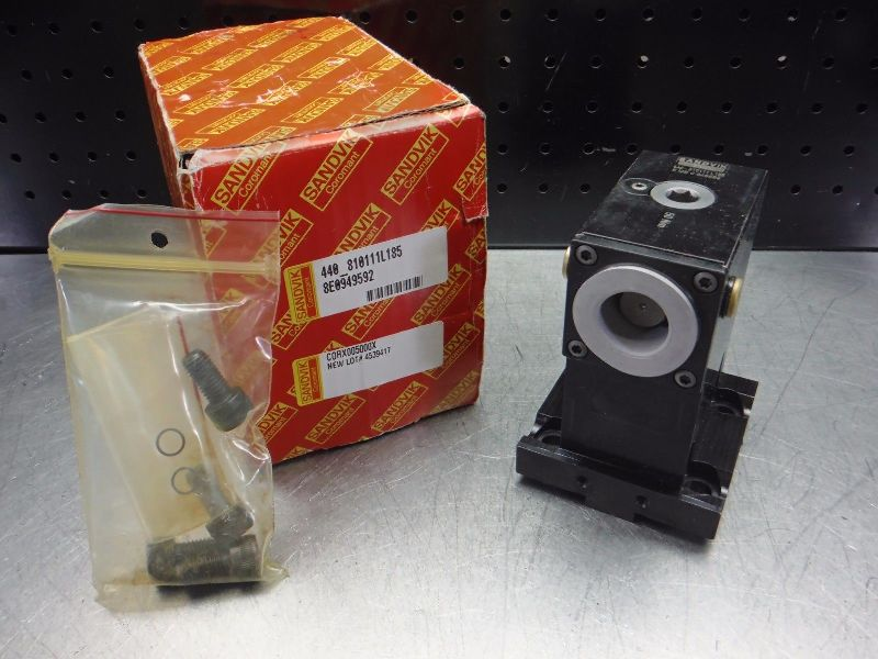 Sandvik Lathe Turret to Capto C4 Drive Adapter 440-810111L185 (LOC2823D)