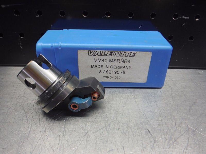 Valenite VM / KM 40 Indexable Turning Head VM40-MSRNR4 (LOC2816B)