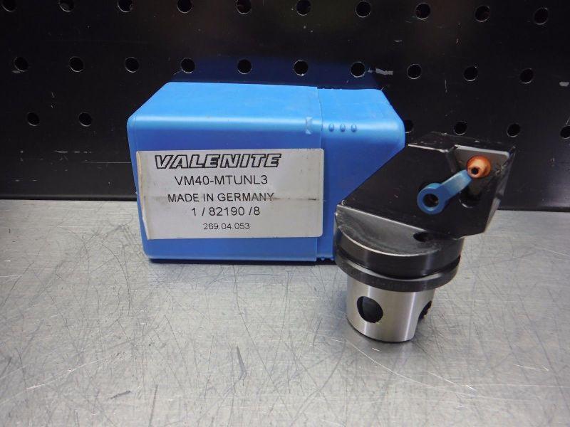 Valenite VM / KM 40 Indexable Turning Head VM40-MTUNL3 (LOC2817A)
