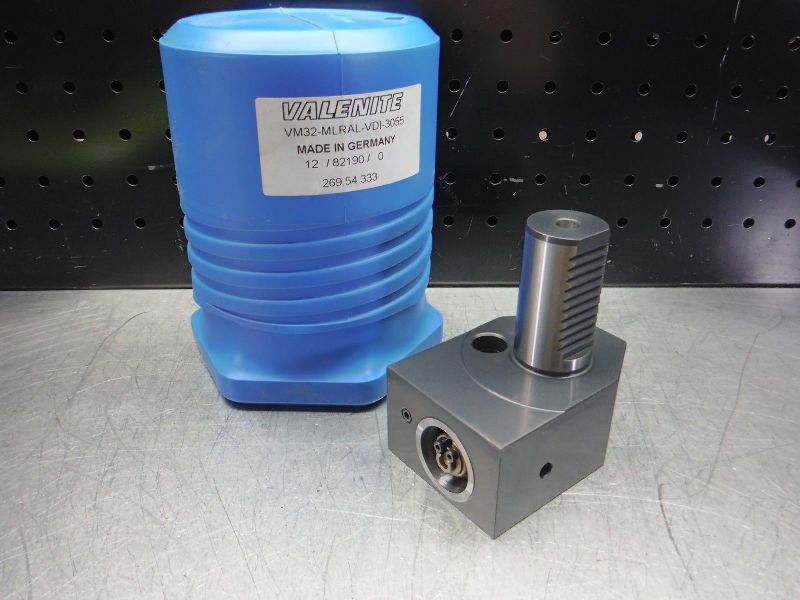 Valenite VDI 30 VM / KM 32 Clamping Unit VM32-MLRAL-VDI-3055 (LOC2689A)